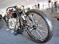 Hand made custom Harley-Davidson Board Track Rigid Motorcycle ( Motorcycle video )