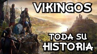 Historia de los VIKINGOS - De la era de Vendel a los reinos escandinavos medievales (Documental)