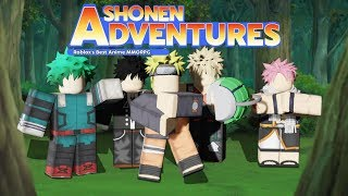 NEW ANIME MMORPG | ROBLOX - Shonen Adventures | How to Play