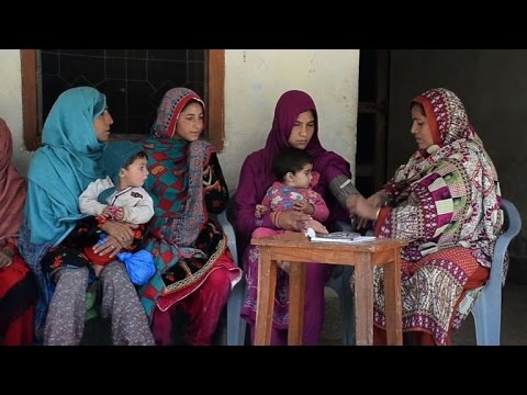 Fear of death as mothers give birth in Pakistani Kashmir
