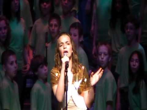 PART 1: Ashley sings Kelly Clarkson Moment Like This for Seneca Middle School Spring Program