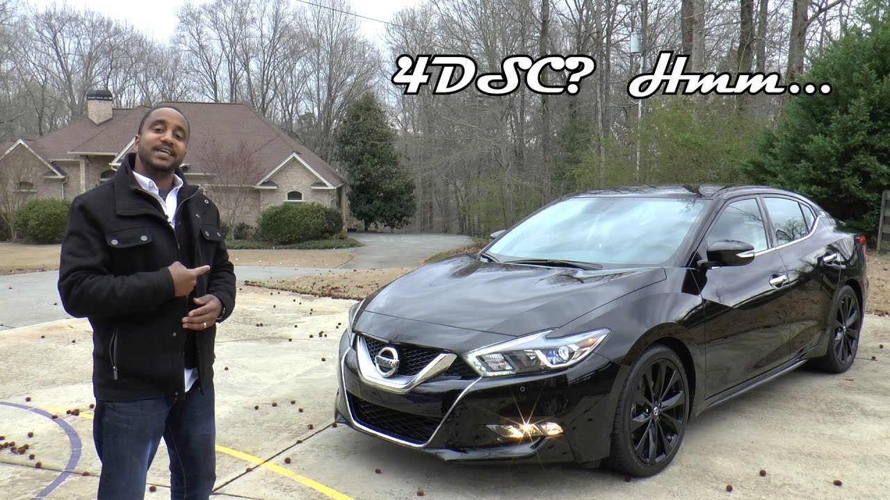 2017 Nissan Maxima SR Midnight Edition Review - 4DSC? Hmm ...