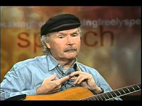 "Tom Paxton; ""Rap what we used to call talking blues"", New York, NY, Nov. 29, 2000"