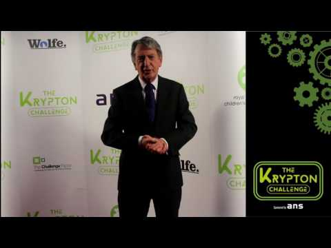 Gordon Burns Looks Forward to Krypton Challenge