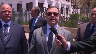 جولة ميدانية للسيد محمود توفيق وزير الداخلية تفقد خلالها الحالة الأمنية بالقاهرة والجيزة