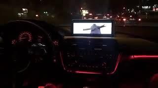 BMW ARABA SNAP   GECE SNAP   YAN KOLTUK SNAP  YAĞMURLU SNAP # 175