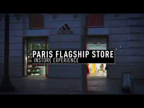 Adidas Brand Flagship Paris In-Store Experience And Digital
