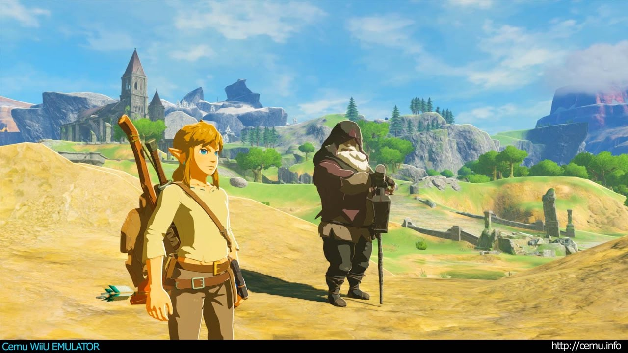 Cemu WiiU Emulator - The Legend of Zelda Breath of the Wild 4K 2160p
