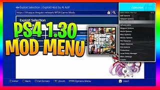 GTA 5 Mod Menu On PS4 PlayStation 4 Jailbreak