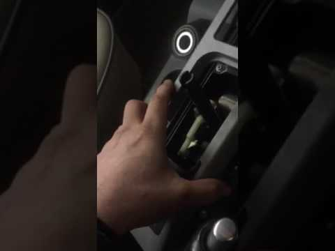 Range Rover 2004 l322 gear stick removal low high hill climb switch