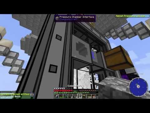 Let's Play PneumaticCraft - E5 - Introduction to Drones