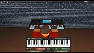 Promise - Silent Hill 2 by: Akira Yamaoka on a ROBLOX piano. [Myuuji's Arrangement]