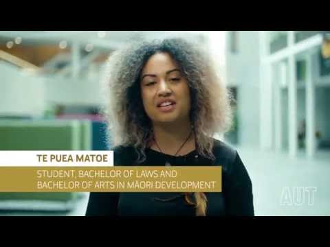 AUT Law Degree Insider's View - Te Puea Matoe's perspective