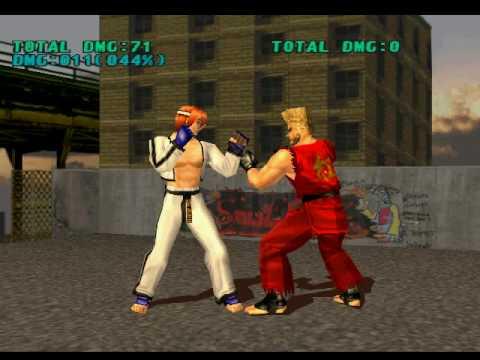 Tekken 3 Hwoarang Juggle Combos Youtube