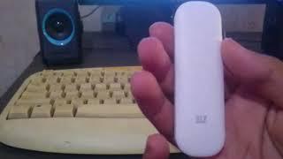 Unboxing dan tes modem usb ZTE MF667 baru murah 50 ribuan