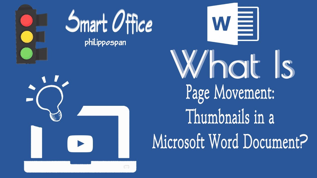 What Is Page Movement: Thumbnails In A Word 365 Document