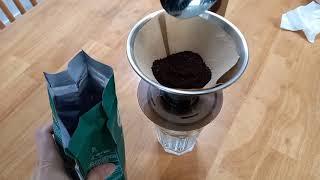 커피머신 없이 스타벅스 아이스 아메리카노 만들기
