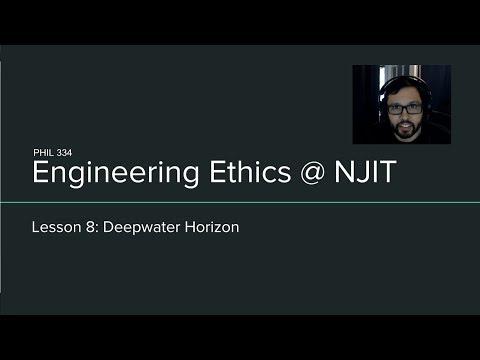 EE Lesson 8 - Deepwater Horizon