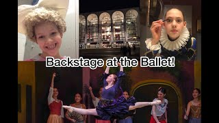 BACKSTAGE BALLET DANCERS & BUBBLY DRINKS / A Weekend with the Quiners
