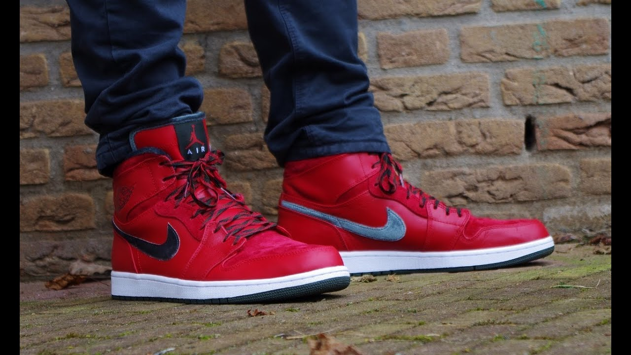 Air Jordan 1 Retro Hi Premier Gucci ON FEET Review Different Styles 1080p HD