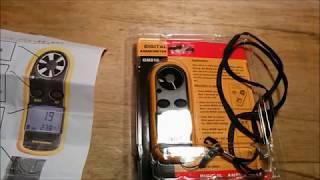BENETECH GM816 デジタル風速計の 使い方