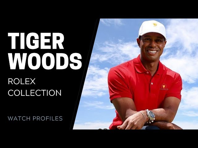 Tiger Woods' Rolex Collection | SwissWatchExpo [Watch Collection]