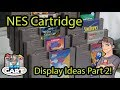 Gambar cover NES Cart Display Ideas for a Game Collection / Game Room PART 2