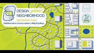 Collaborative Conversations - #MyCityMap - Big Payback 2020