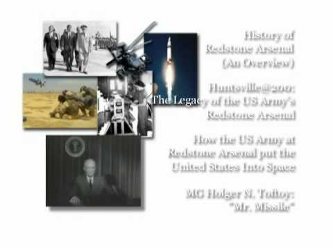 History of Redstone Arsenal intro