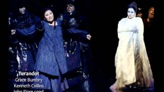 Grace Bumbry & Kenneth Collins -Turandot - Riddles scene - Sydney 1991