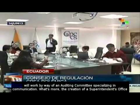 Ecuador's Law of Communication takes force
