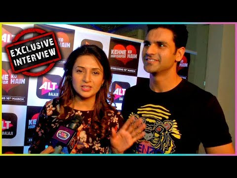 Divyanka Tripathi And Vivek Dahiya TOGETHER In Web Series? - EXCLUSIVE Interview | TellyMasala