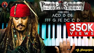 Download lagu Pirates of the Caribbean Theme (indian version) Piano Cover WITH FULL NOTES | AJ Shangarjan
