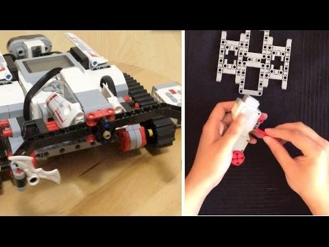 Lego Mindstorms EV3 Tank Assembling & Run - YouTube