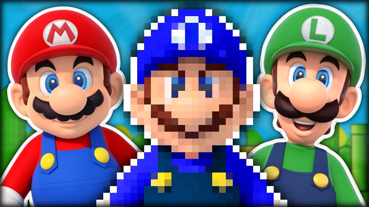 Hat Mario in Wirklichkeit ZWEI Brüder?