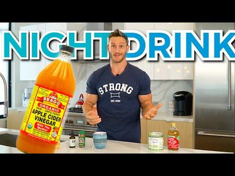 Apple Cider Vinegar Night Time Drink Recipe