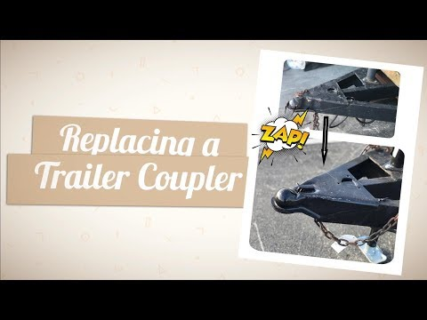 Replacing a Welded Trailer Coupler  - Demonstration