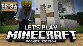 Survival Let's Play Ep. 86 - INFINITE CHICKEN FARM!!! - Minecraft PE (Pocket Edition)
