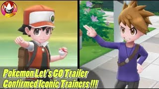 Pokemon Let's GO Confirms Rival BLUE, Champion RED, and GREEN?!