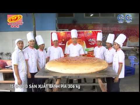 Quy trình sản xuất  Bánh Pía 306kg, Bánh in 595kg, Cốm dẹp 108kg