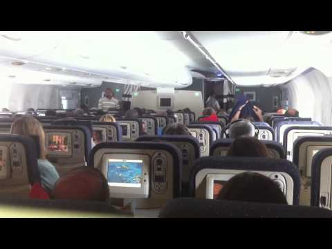 Inside Air France Airbus A380-800