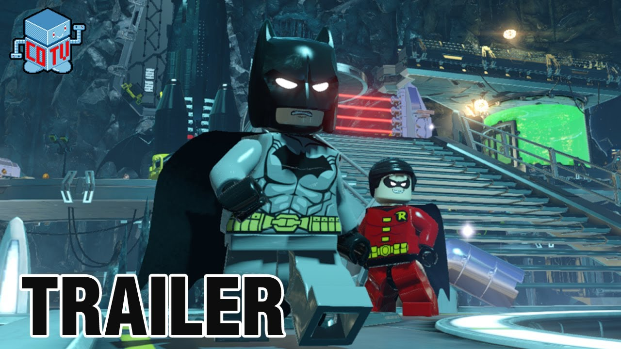 LEGO Batman 3 Beyond Gotham Official Announcement Trailer