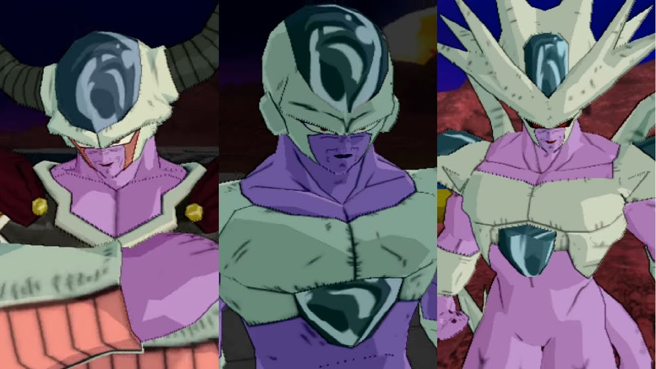 【MOD】King Cold + All Forms【DBZ BT3】 - YouTube