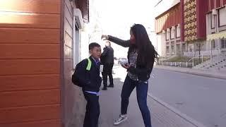 10 Year Old Smoking (Social Experiment in Mongolia) - Shocking Reactions I ТАНД ГАЛ БАЙНА УУ?