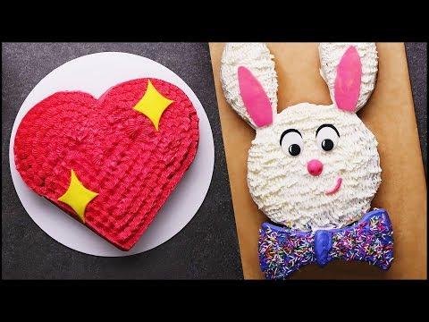 Satisfying Cake Decorating Tutorial | Cake Hacks | Cake Decorating Challenge | DIY Cake Tips