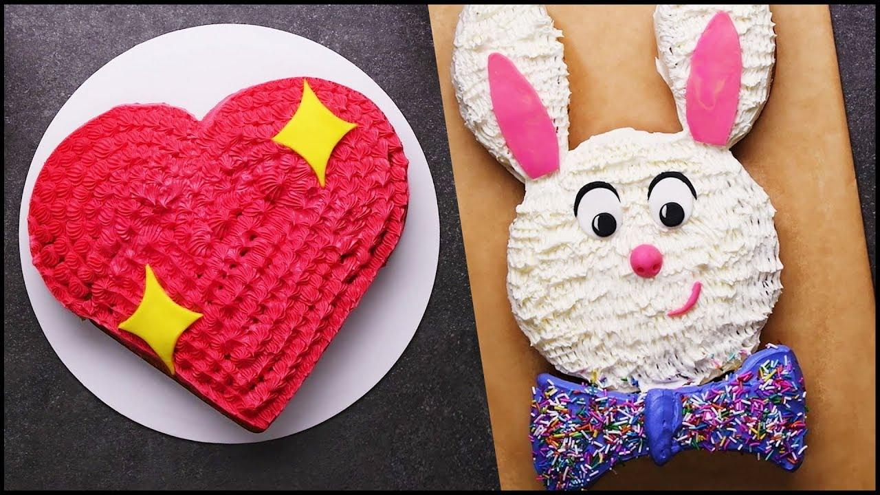 Satisfying Cake Decorating Tutorial | Cake Hacks | DIY ...