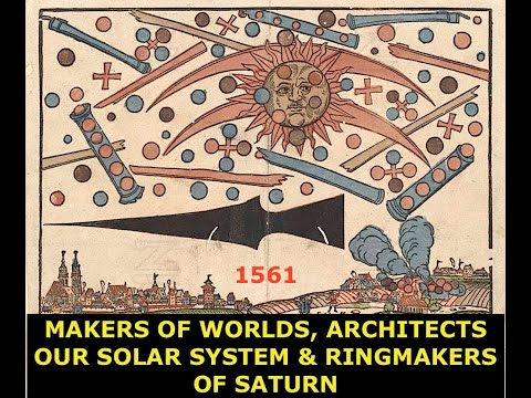 Makers of Worlds, Hidden Architects of Our Solar System & Ringmakers of Saturn, Beyond Disclosure