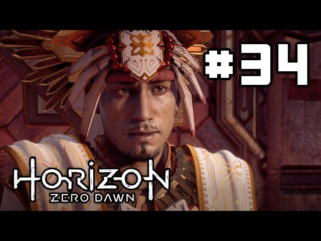 Horizon Zero Dawn - EP 34 - Meeting the New Sun King