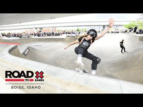 Brighton Zeuner qualifies first | Road to X Games Boise Qualifier