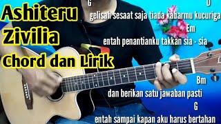 Chord Zivilia Aishiteru | Tutorial Gitar By Darmawan Gitar